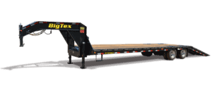 flatbed-gooseneck-tandem-axle-trailer-big-tex-22GN