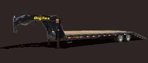 flatbed-gooseneck-tandem-axle-trailer-big-tex-22GN
