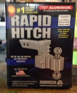 rapid-hitch-ball-mount-aluminum