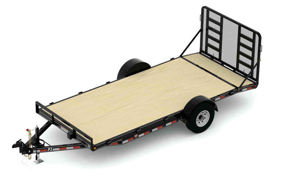 single-axle-HD-car-hauler-with-gate