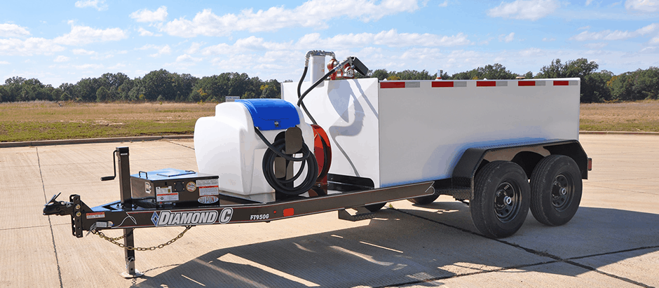 950 Gallon Fuel Transfer Trailer