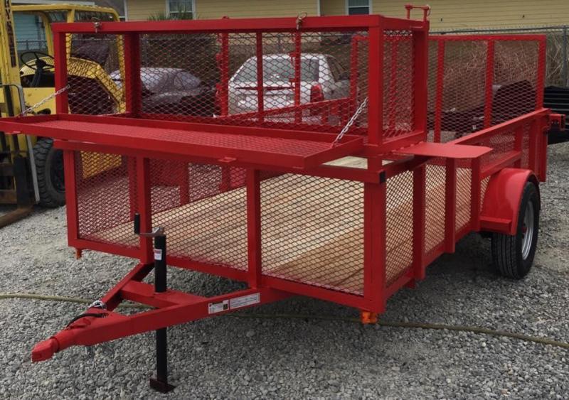 Red Utility Trailer for Sale - Landscape