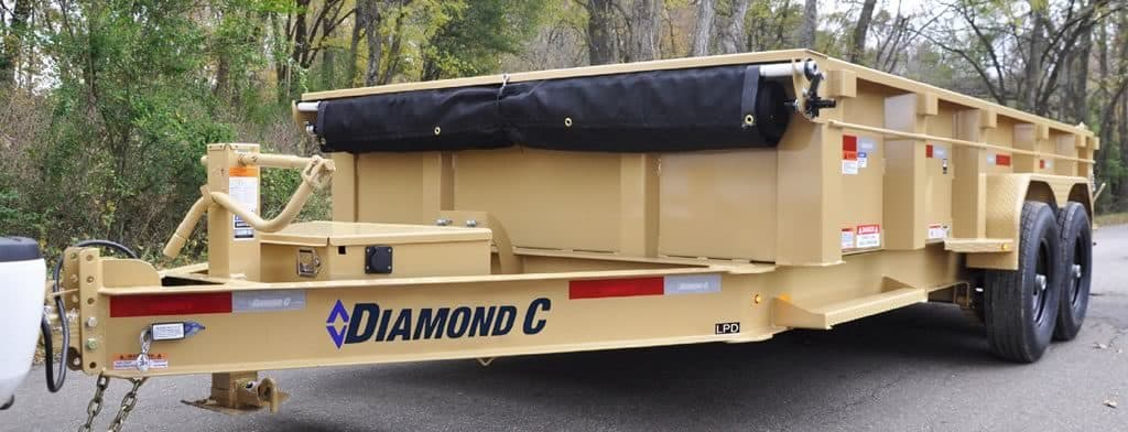 LPD Dump Trailer - Diamond C - Gulfport, MS